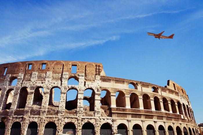 Flug Nach Rom Für 11 Euro Buchen Italienportalde